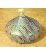 Art Glass Oil Lamp - $20.00