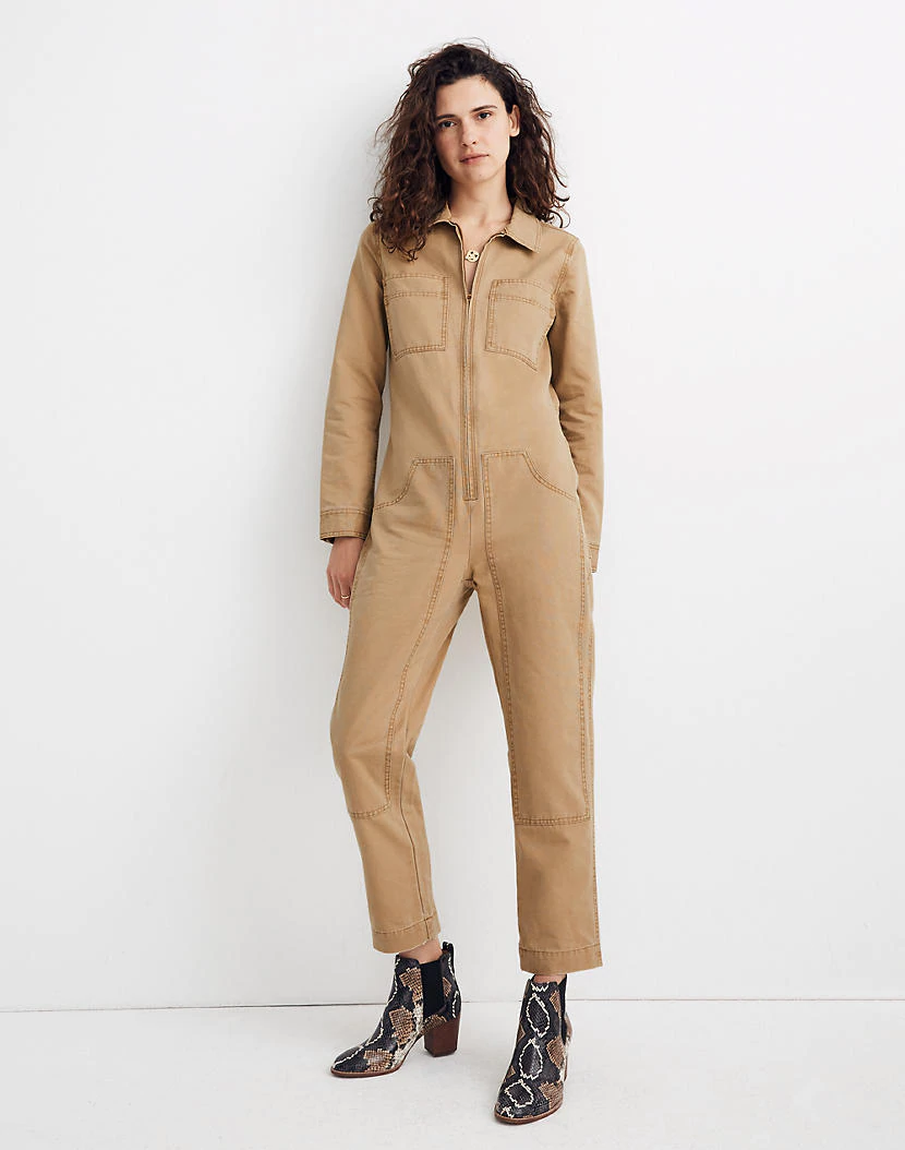 x dickies zip coverall jumpsuit workwear fashion on dickies coveralls id=76731