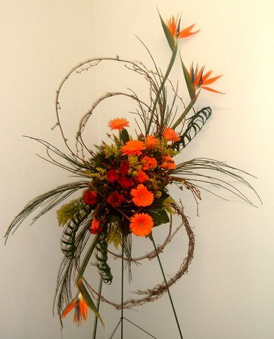 Bird Of Paradise Funeral Flower Arrangements Funeral Floral Arrangements Funeral Floral