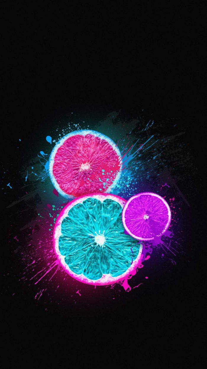 Amoled Fruits iPhone Wallpaper - iPhone Wallpapers