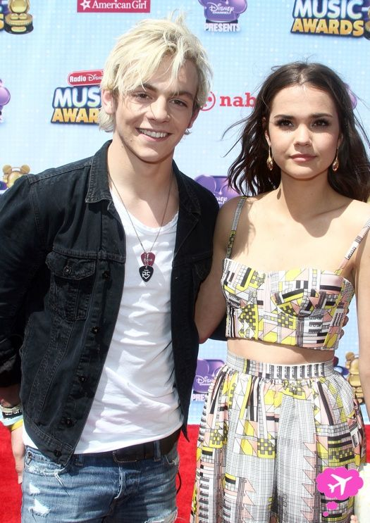 Cool Remember When Ross Lynch And Maia Mitchell Took Cute Photos At Short Hairstyles For Black Women Fulllsitofus