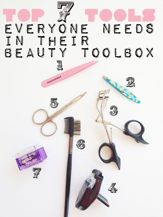 Top 7 Beauty Tools Everyone Needs in their beauty tool box!