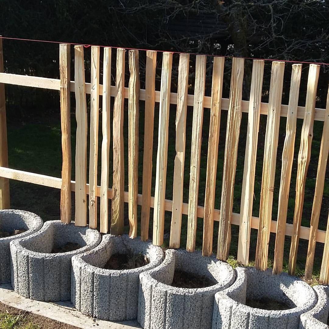Neues Gartenprojekt Gartenzaun Gartenidylle Holzdesign