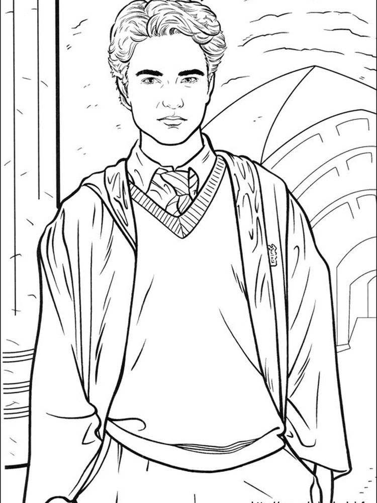 38++ Printable harry potter coloring pages for adults ideas