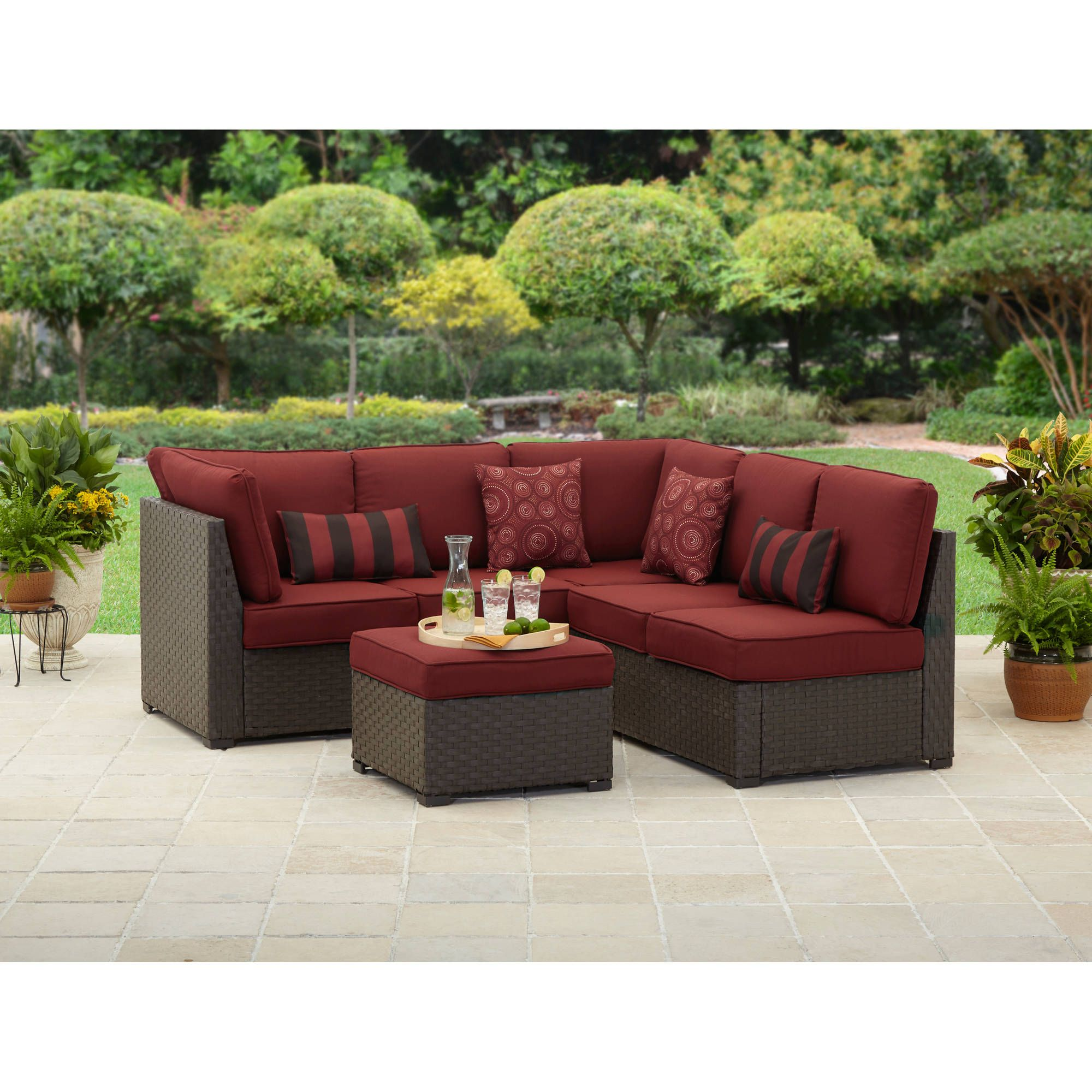 Add The Beauty Of Outdoor Sectional Sofa To Your Compound Decor In