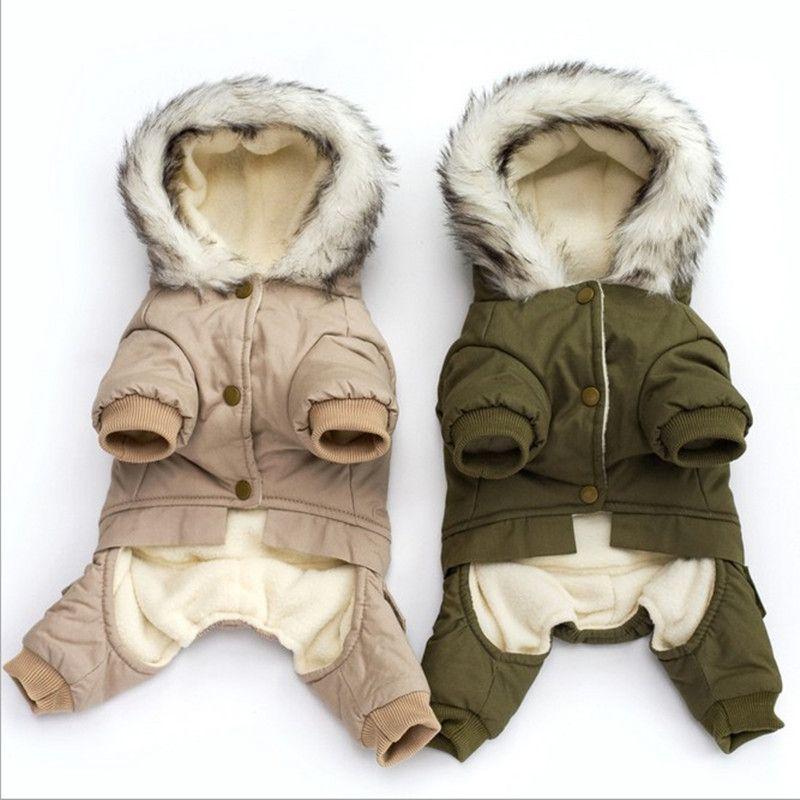 roupas para caes cachorro de inverno casaco quente pet