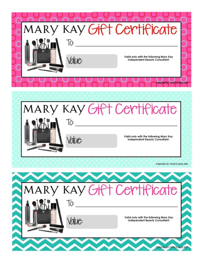 Uk in 2020 Mary kay gift certificates, Mary kay gift
