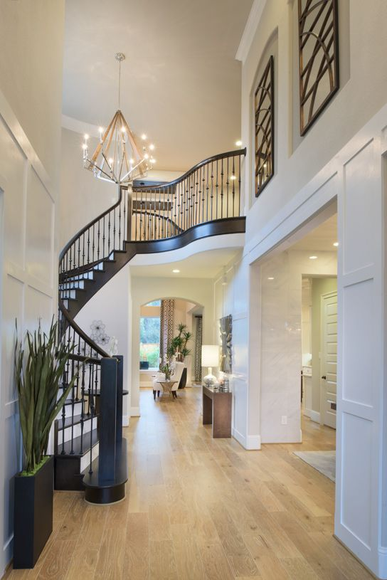 Toll Brothers St Paul Mission Foyer The Woodlands Creekside Park Coronet Ridge Model Homes Texas Homes For Sale Home