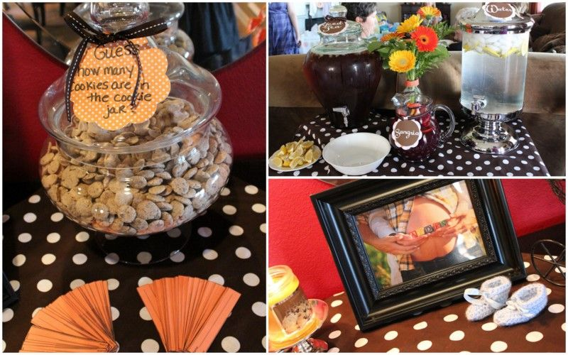 What A Fun Idea To Do At A Cookies And Milk Baby Shower Party