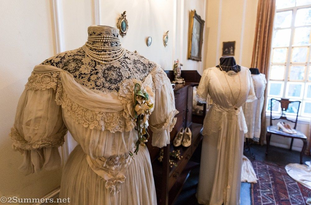 Victorian wedding dress at Lindfield House Victorian
