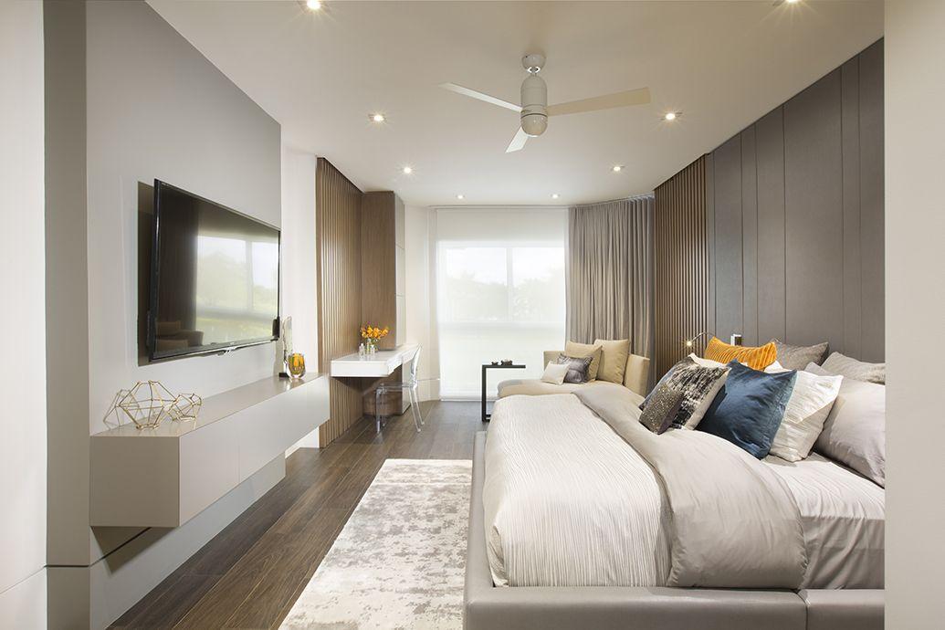 Master bedroom Contemporary Twilight Residential
