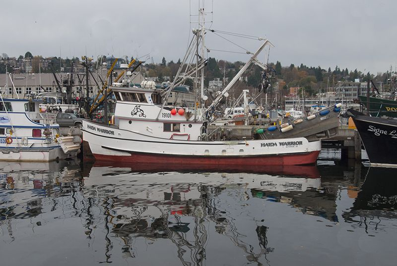 F/V Haida Warrior built by C W  Brown in 1944, hailing port