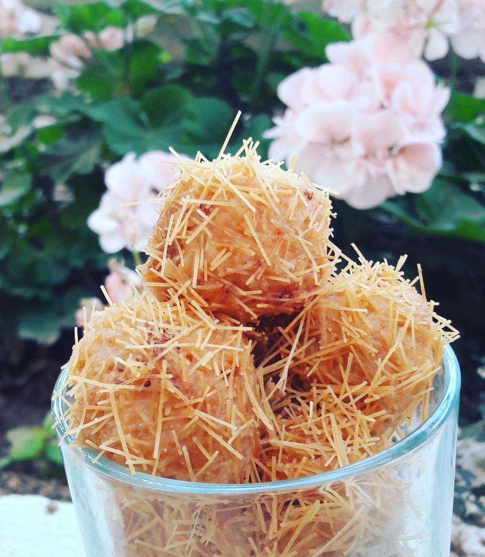 طريقة عمل كرات الشعيرية الباكستانية للرجيم Coconut Coconut Flakes Spices