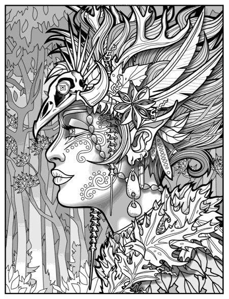 Magical Beauties Coloring Book 2