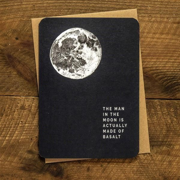 Man in the moon greetings card stationery love pinterest man in the moon greetings card m4hsunfo