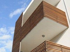 Painel de madeira para fachada BRISE-SOLEIL - Ravaioli Legnami
