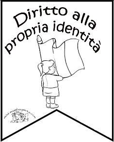 Bandierine diritti dei bambini bambini scuola for Maestra gemma diritti dei bambini
