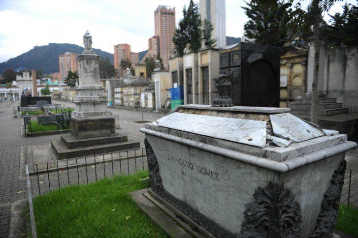 Un recorrido por el Cementerio Central /Fuente: Cristian Garavito - El Espectador Tumba de Laureano Gómez. ELESPECTADOR.COM