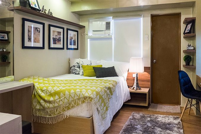 A 21sqm Contemporary Studio Unit Home Condo Interior