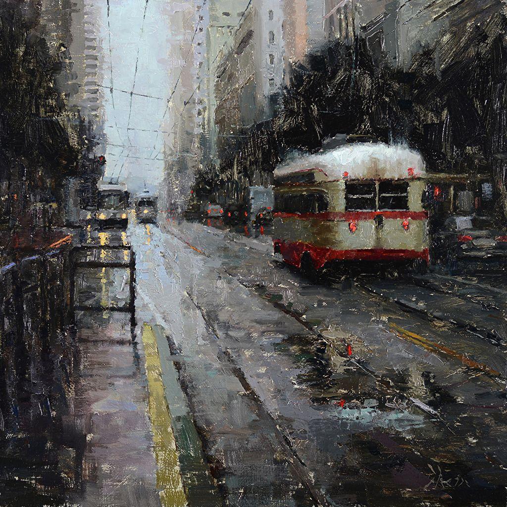Картинки по запросу san francisco streets rainy