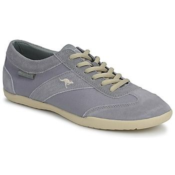 Tennarit Kangaroos SAMANTHA harmaa nahkaa 39,99 e - sneakers grey leather