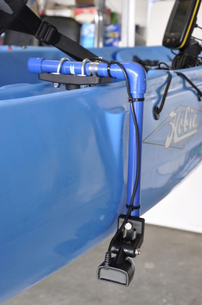 Kayak transducer mounts google search kayak for Kayak fish finder mount