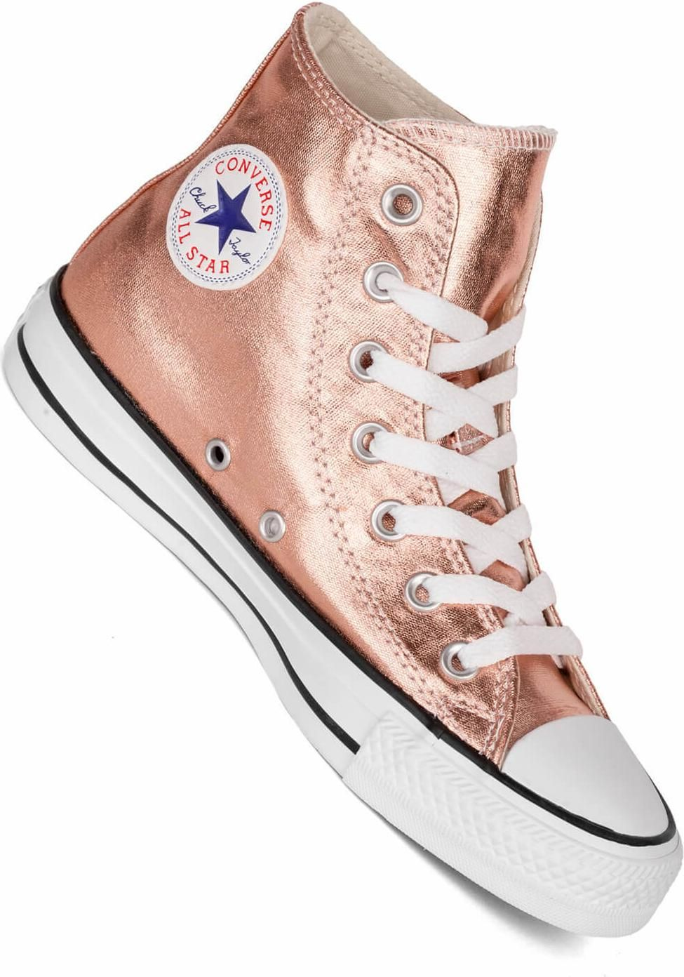Converse Chucks Hi metallic sunset glow Damen Sneaker im Fashion Look