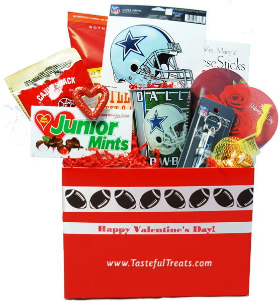 dallas cowboys valentine's day gift basket $44.99 | gifts for, Ideas