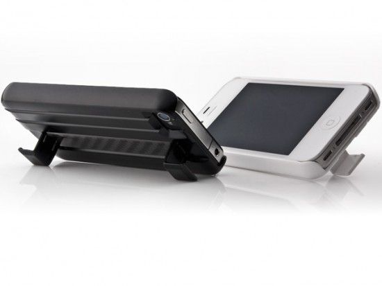 Ion Blazer Carbon Fiber iPhone 4 / 4S Case and Stand