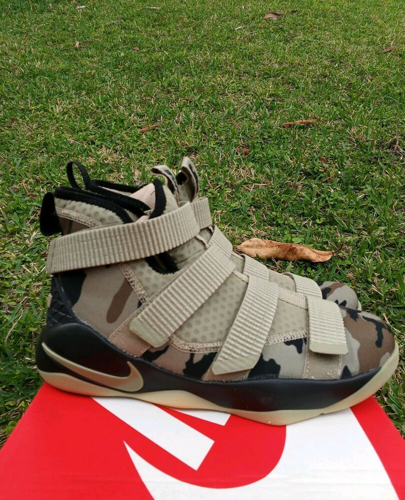 official photos b1634 cb039 eBay #Sponsored 7 YOUTH Nike Lebron Soldier XI 11 Camo Big ...