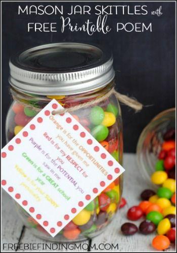DIY Gifts for Teacher Appreciation Week: Mason Jar ...