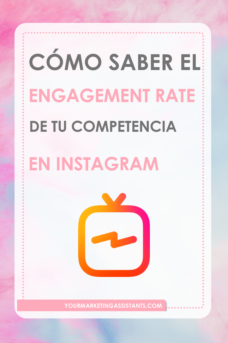 Cómo Saber El Engagement Rate De Tu Competencia En Instagram Instagram Engagement Socialmedia Instagram Tutorial Instagram Tips How To Speak Spanish