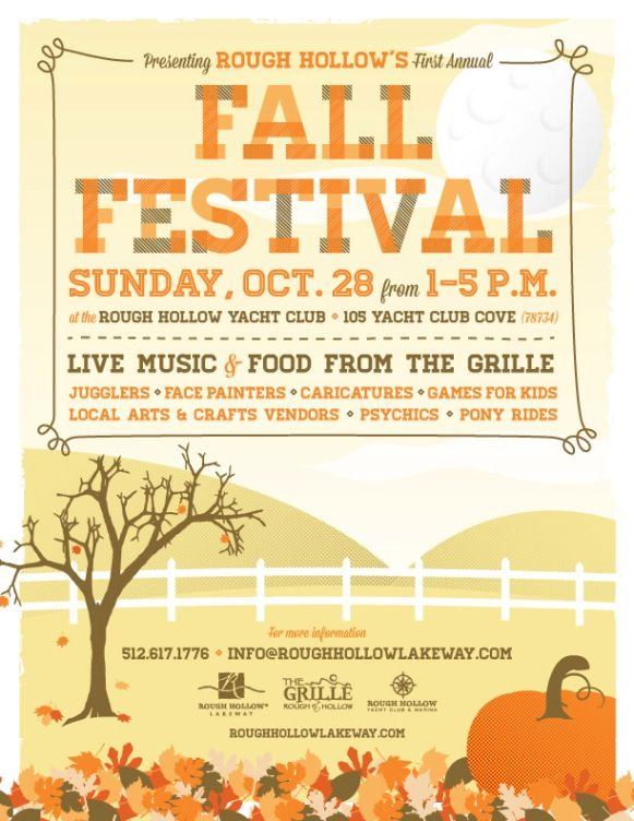 Rough Hollow  Fall Festival    Fall Carnival And Carnival
