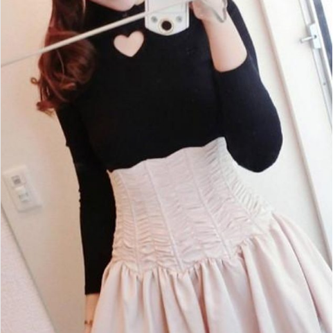087ceebd02 Lovely japanese fashion sweater review SE279