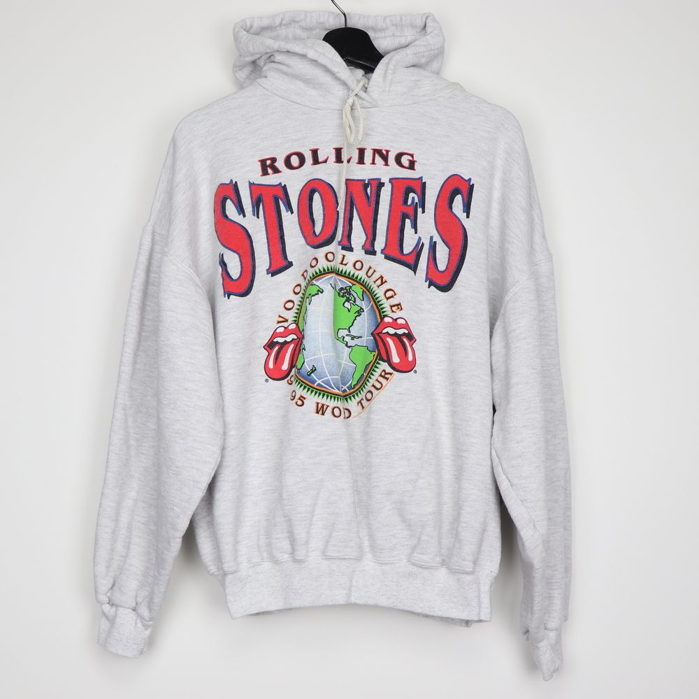 1994 Rolling Stones Voodoo Lounge Tour Hooded Sweat Shirt in