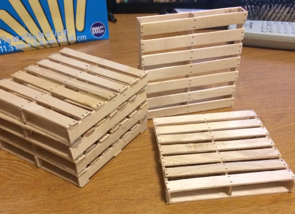 Pallet coasters out of popsicle sticks nails are just What to make out of popsicle sticks