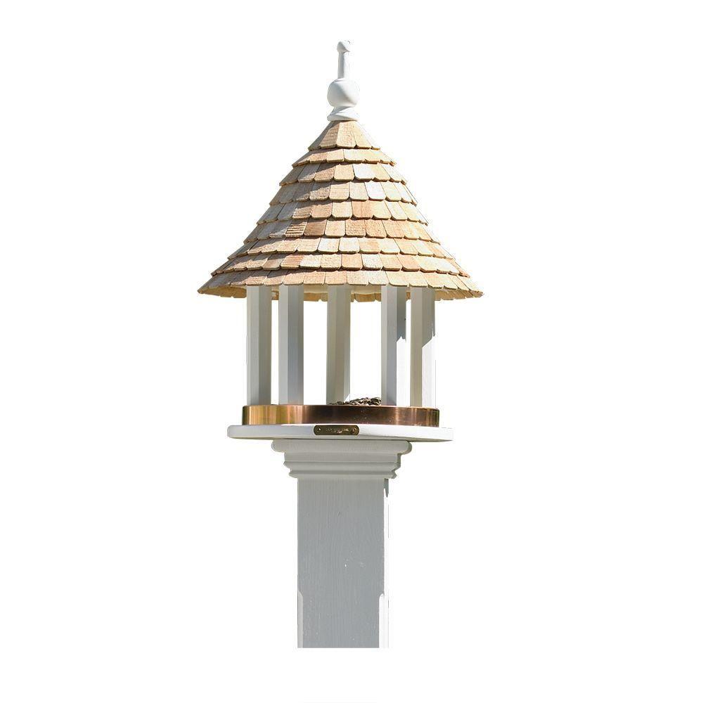 Good Directions Lazy Hill Farm Designs Lazy Hill Bird Feeder 41501 The Home Depot In 2020 Gazebo Bird Feeder Farm Design Bird Feeders