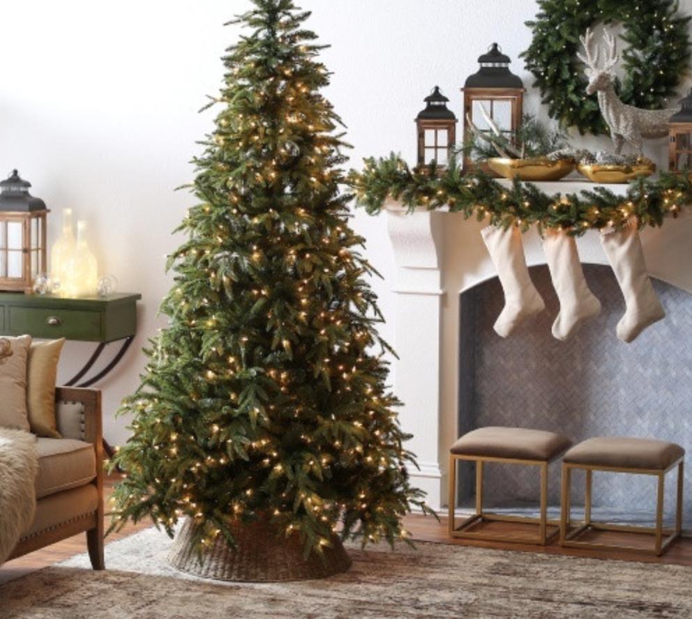 Christmas Tree Ideas Coastal Collective Co Fake Christmas Trees Pre Lit Christmas Tree Full Christmas Tree