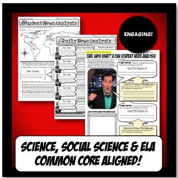 Pin On Social Studies Cnn students news worksheet