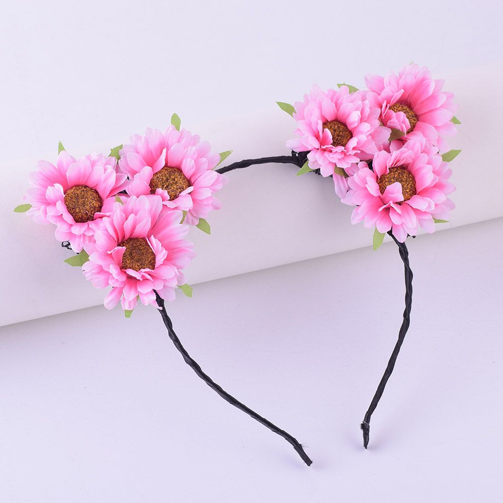 Click to buy ucuc cxadditions girls hair band floral crown headband