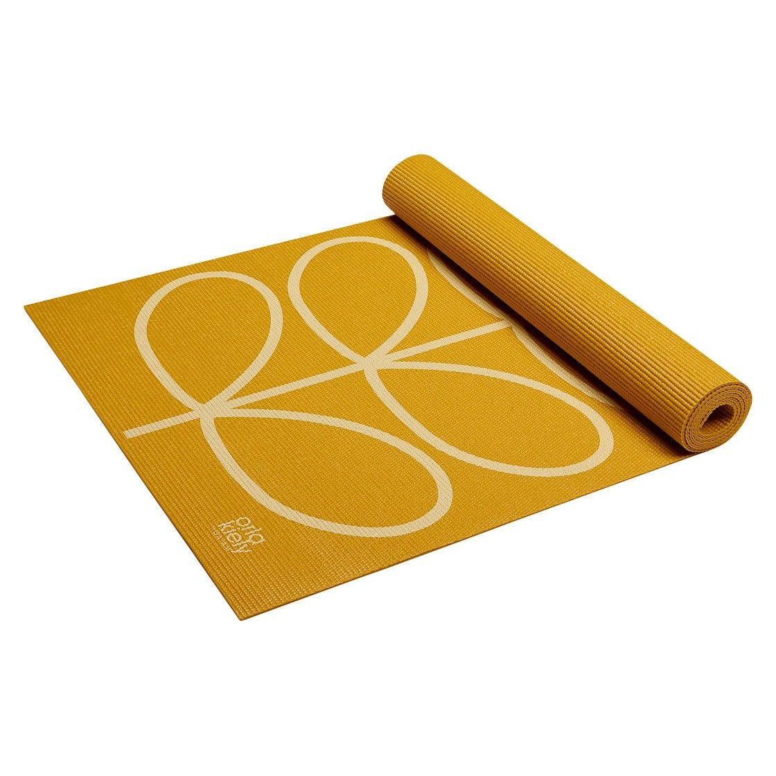 107c8391e742 Orla Kiely by Gaiam Linear Stem Sunflower Yoga Mat- Yellow (3mm) at Target