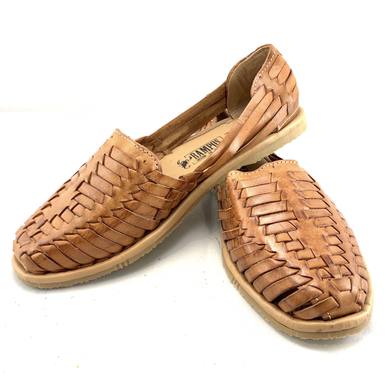 sandalias piel mujer