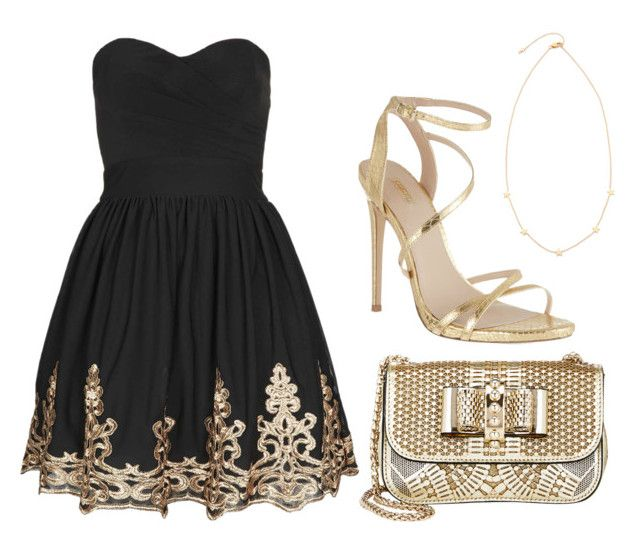 """Untitled #894"" by cynthiacharmice ❤ liked on Polyvore featuring Tai, Carvela, TFNC and Christian Louboutin"