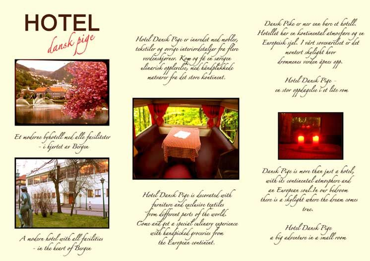 Use high quality images, Showcase your business with images of - sample hotel brochure
