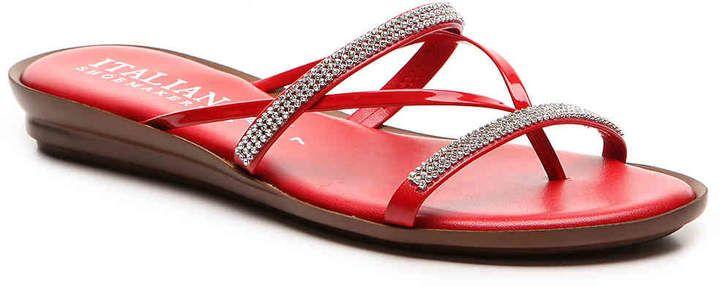 96e50cf34d Italian Shoemakers Women's Jewel Wedge Sandal | Products | Wedge ...