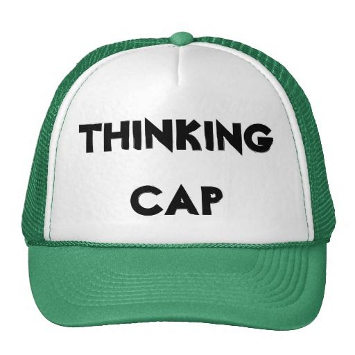 917e77b9815 Thinking Cap Hat--SOLD to Angela in Charleston