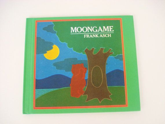 Vintage Children's Book Moongame by Frank Asch by DonnaDesigned, $5.00