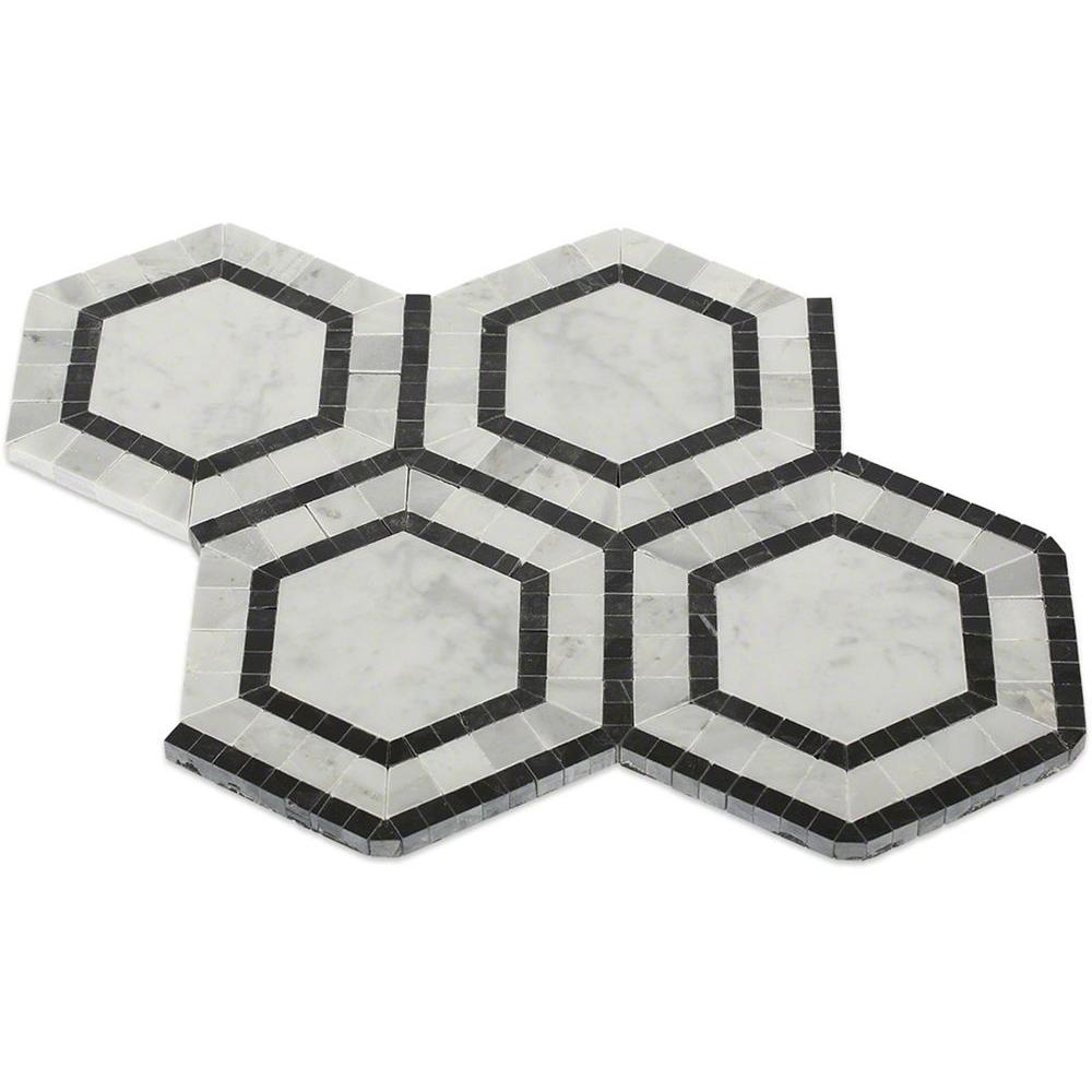 Ivy Hill Tile Sample Of Zeta Carrera Polished Marble Tile 6 In X 6 In Tile Sample Ext3rd103003 The Home Depot Marble Mosaic Tiles Polished Marble Tiles Marble Mosaic