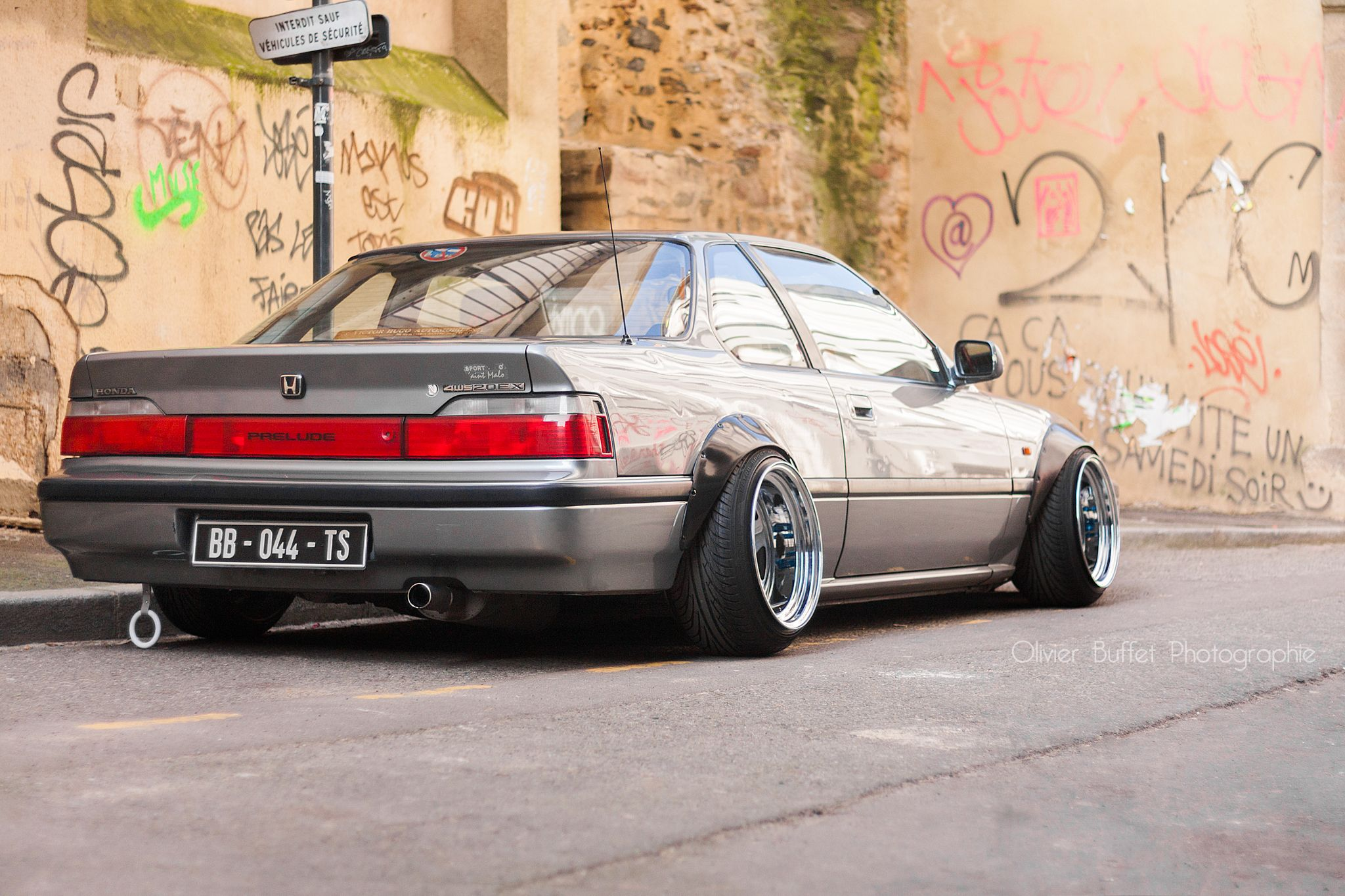 Fender flare goals (even though it's a Prelude). | Cars | Honda prelude, Jdm cars, Car show