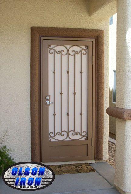 Las Vegas Security Doors & Window Guards | Wrought Iron Security ...